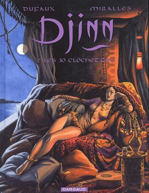 Couverture Djinn, tome 02 : Les 30 clochettes