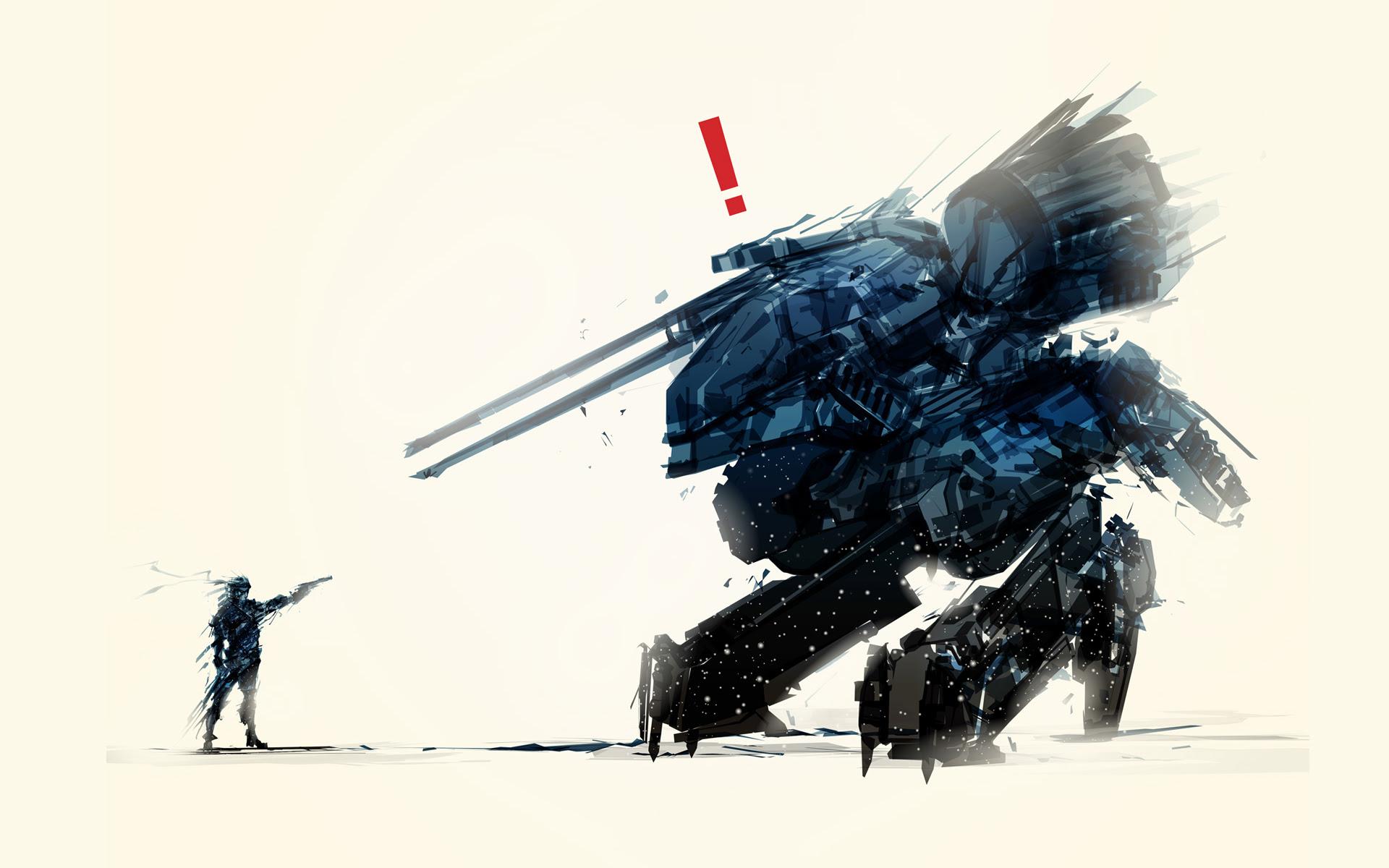 Metal Gear Solid Art Wallpaper 1920x1200 10765
