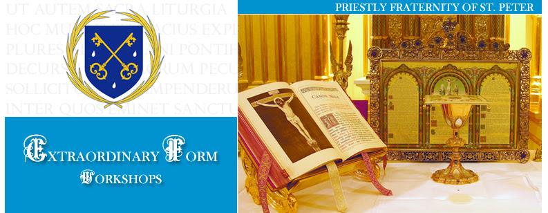 FSSP Priest Training Workshops