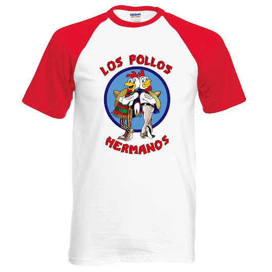 T-shirt Breaking Bad 100% coton Los Pollos Hermanos