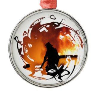 Circle of Flames ornament