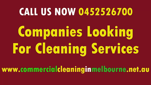 Companies Looking For Cleaning Services | CALL US NOW: 0452526700 by Commercial Cleaning Services melbourne (cleanersservices) on Mobypicture