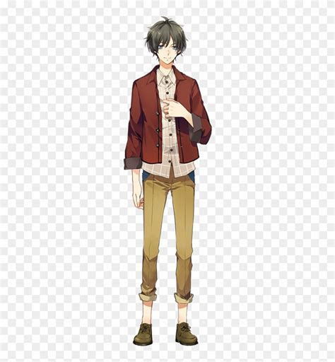 yoru anime boy full body drawing  transparent png