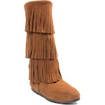 Minnetonka Women's 3 Layer Fringe Boot