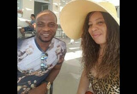 Monalisa Chinda & Victor Coker In Greece For Their White Wedding (photos)