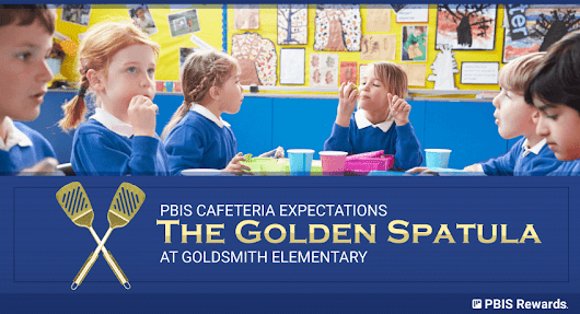 PBIS Cafeteria Expectations = The Golden Spatula Program