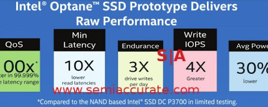 Intel to mislead press on Xpoint next week - SemiAccurate