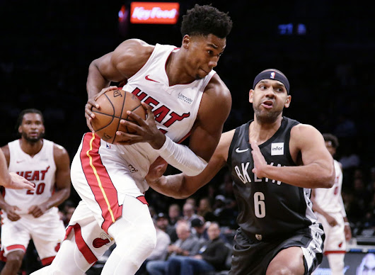 Heat Beat Nets 120-107 to End Three-game Losing Streak - Florida Daily Post