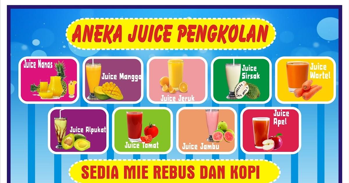 Gambar Spanduk Minuman Segar