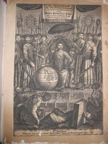 Die Gesandtschaft der Ost-Indischen Compagnen...Sinesischen Keiser (Jacob Moeurs) 1666