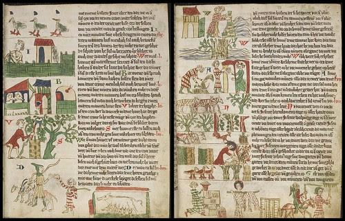 Heidelberger Sachsenspiegel duo c