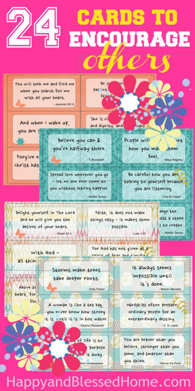 24 Ways to Encourage Teachers: Teacher Appreciation Gift Ideas - Happy & Blessed Home - HMLP 84 - Feature