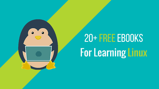 25 Free Books To Learn Linux For Free