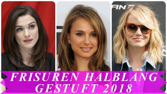 Aktuelle Frisuren Frauen Halblang