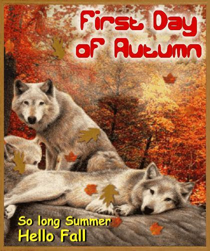 A Nice First Day Of Autumn Ecard. Free First Day of Autumn