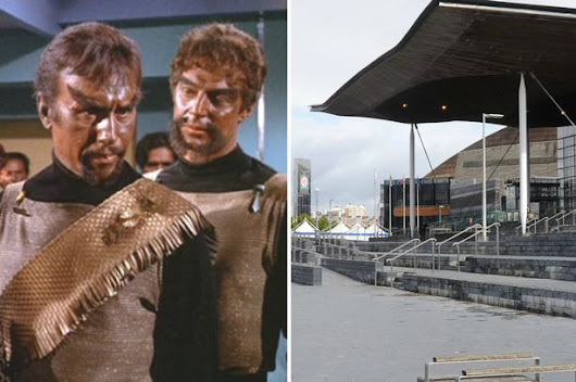 Welsh ministers were asked for information about UFO sightings... and they replied in KLINGON