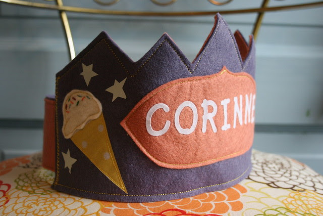 Corinne custom crown
