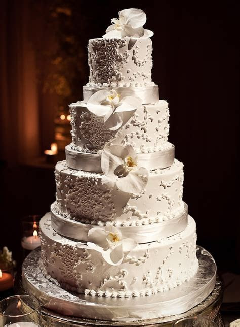 Tall Wedding Cakes   Wedding Ideas   Inside Weddings