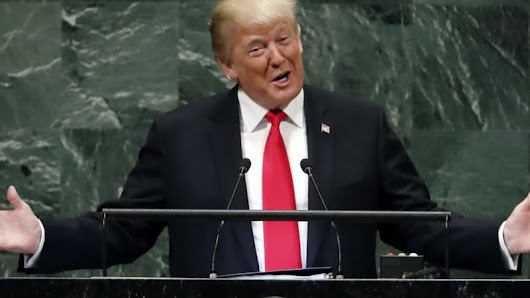 Trump's UN General Assembly speech provokes laughter from world leaders after boasting of economic achievements