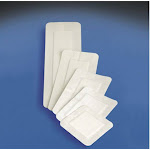 DeRoyal 46052100 White 4 x 14 in. Covaderm Composite Dressing Pack of 25