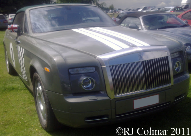 Rolls Royce Phantom Convertible, Goodwood FoS