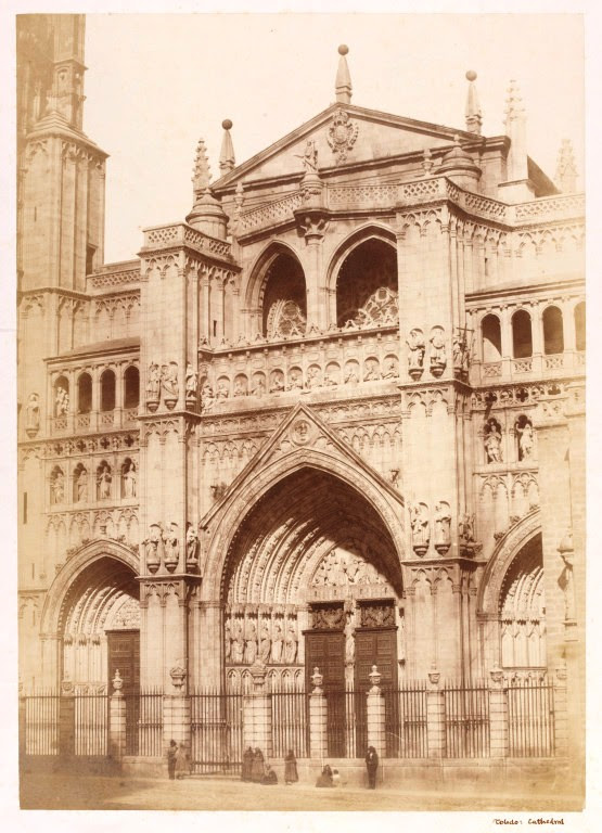 Catedral de Toledo en 1858. Fotografía de Charles Clifford. © Victoria and Albert Museum, London