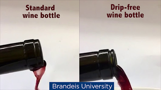 A Simple Wine Bottle Made Drip-Free With a Brilliantly Conceived Two Millimeter Groove