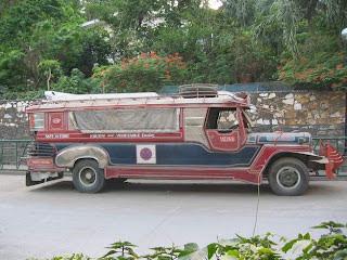 Jeepney in Puerta Galera