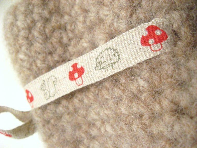 Cute detail from mitten