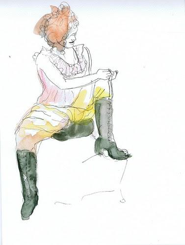 boot tying