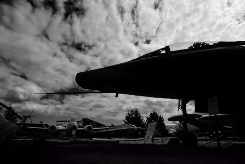 F-100 in silhouette. Dumfries and Galloway Aviation Museum https://flic.kr/p/t8cjwb #scotland #dumfries...