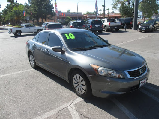 Used 2010 Honda Accord LX sedan AT for Sale in Las Vegas NV 89110 RT Motorsports Auto Sales