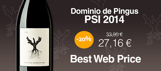 🍷 Pingus PSI 2014 at the best web price. 20% Off!