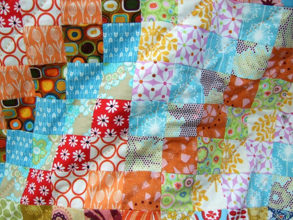 Quilting with perle cotton