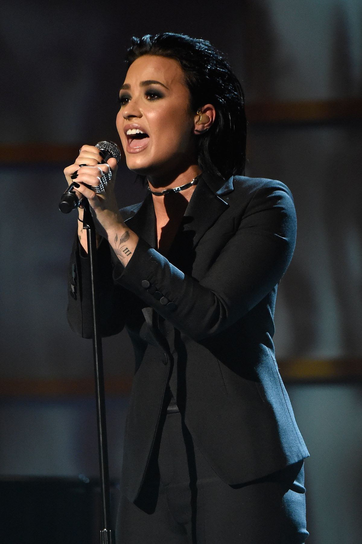 DEMI LOVATO Performs at Billboard