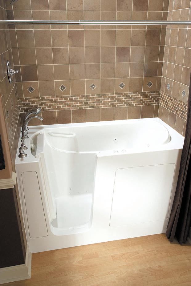 Seniors choose ease of walk-in bathtub, shower - Tropical ...