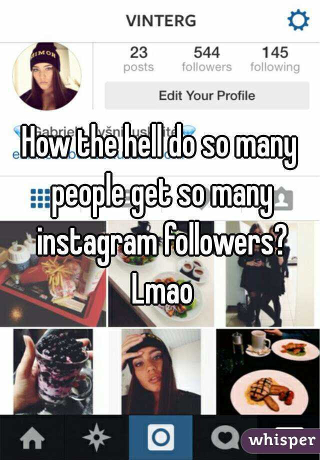 - how people get instagram followers