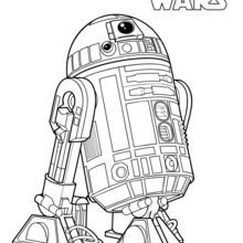 R2 D2 Coloring Pages Hellokidscom