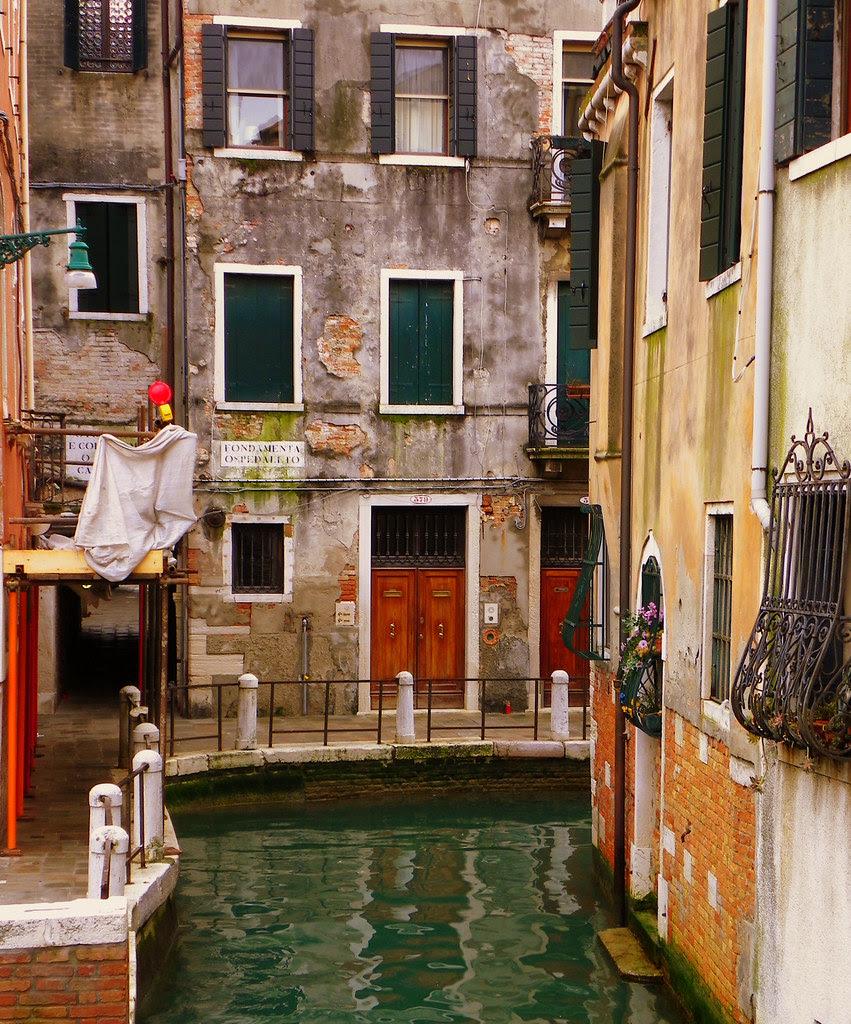 Just A Quiet Neighborhood Canal