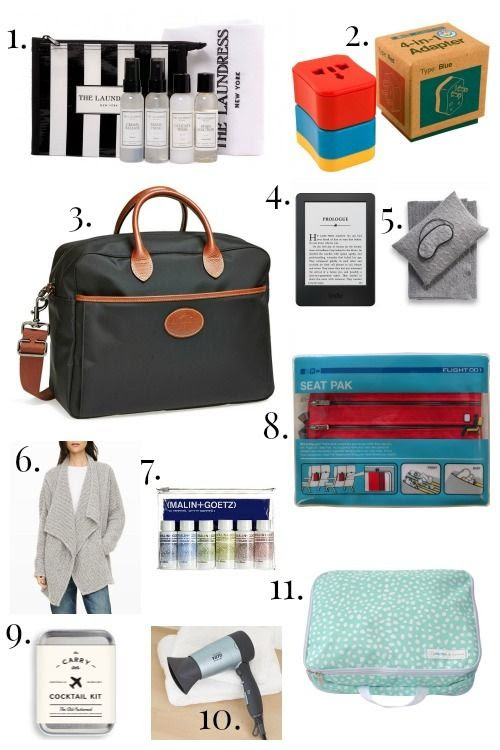 Gift Ideas for the Frequent Traveler