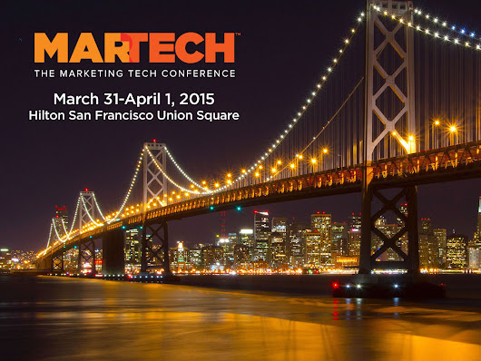 Don't Miss the SF MarTech Conference!