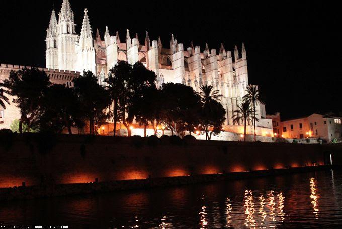 Palma bei Nacht, Sighseeing, Mallorca