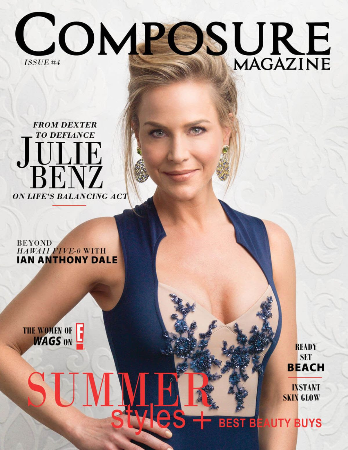 JULIE BENZ in Composure Magazine, Issue #4