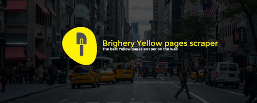 Brightery Yellow Pages Scraper - Brightery