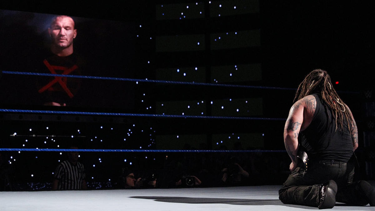 The Viper drives a Crusix through the heart and soul of Sister Abigail five days before his WWE Championship Match with Bray Wyatt at The Ultimate Thrill Ride.
