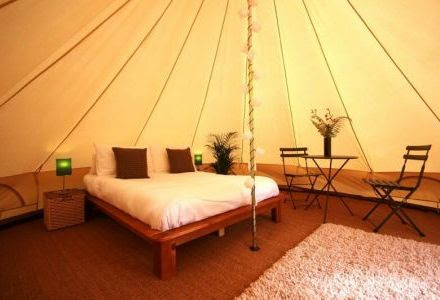 Glamping and Luxury Camping in the UK from Cottage Gems