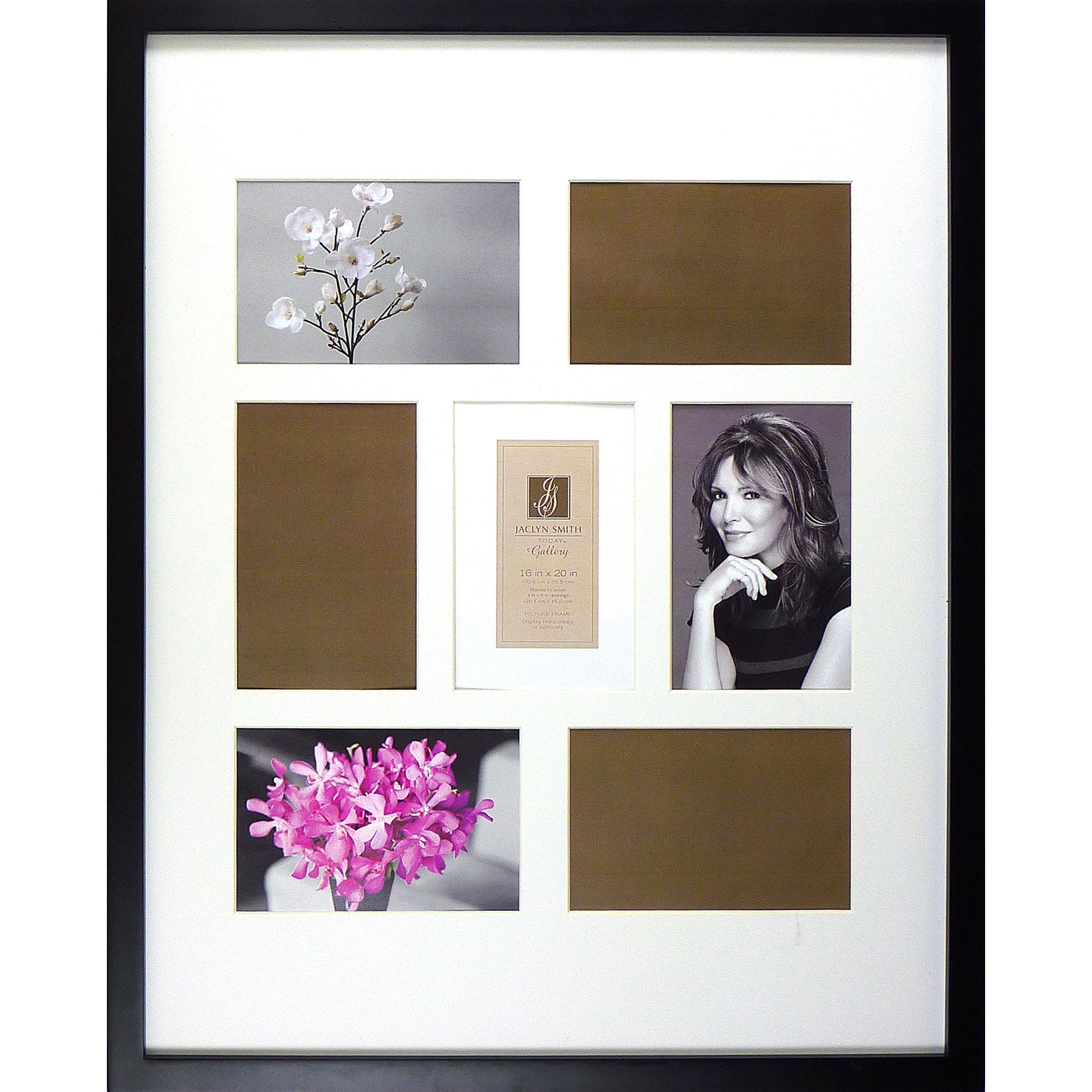 Jaclyn Smith Today Gallery Black 16 X 20 Collage Picture Frame