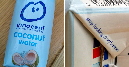 25+ Genius Hidden Messages People Didn't Expect To Find On Everyday Products