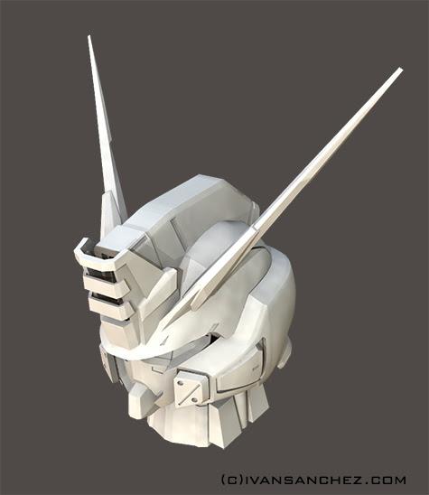 mobile suit gundam seed destiny stargazer 3d mesh cg sandrumverde buster