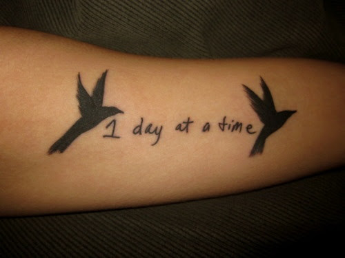 One Day At A Time Tattoo Ideas